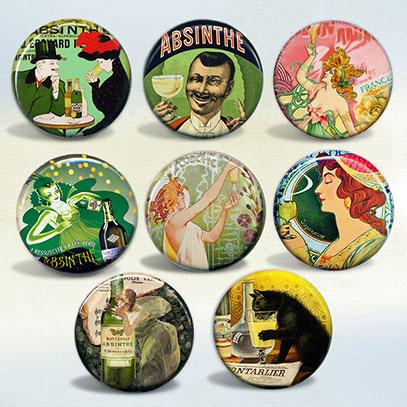 Absinthe Vintage Art & Advertisements