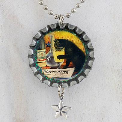 Absinthe Bourgeois Black Cat