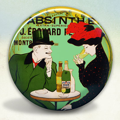 Absinthe Couple J. Edouard Pernot