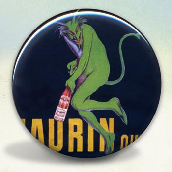 Absinthe Green Maurin Devil