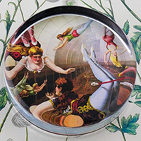 Circus Trapeze Acrobats Paperweight