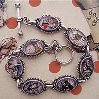 Alice in Wonderland Characters Bracelet