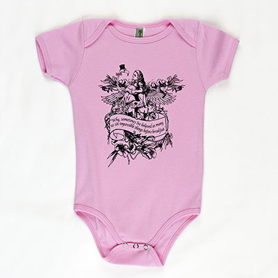 Alice Flamingo Baby One Piece - TIMT