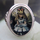 Queen Alice Cameo Style Ring
