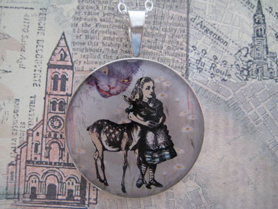 Alice and The Fawn Sterling Pendant