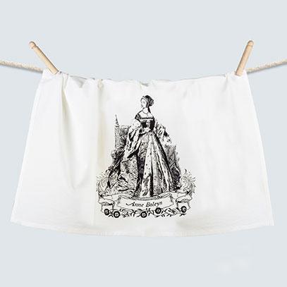 Anne Boleyn Flour Sack Towel