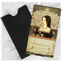 Anne Boleyn Mini Gift Cards