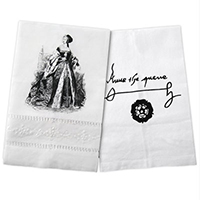 Anne Boleyn Tea Towel