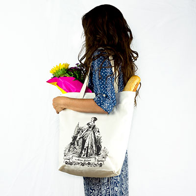 Anne Boleyn Organic Cotton Market Tote Bag