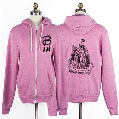 Anne Boleyn Rocky Eco-Fleece Hoodie - Sale Discontinued colors