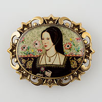 Anne Boleyn Belt Buckle