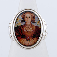 Anne of Cleves Tudors Cameo Style Ring