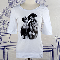 Anne Boleyn & Henry VIII Elbow Length T-Shirt