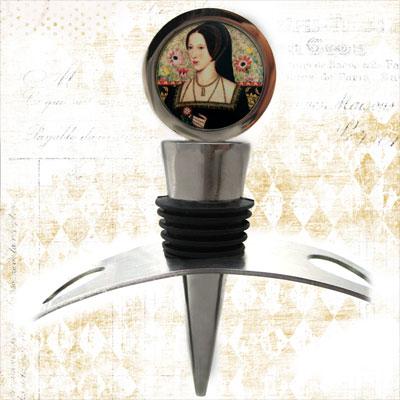 Anne Boleyn Wine Stopper