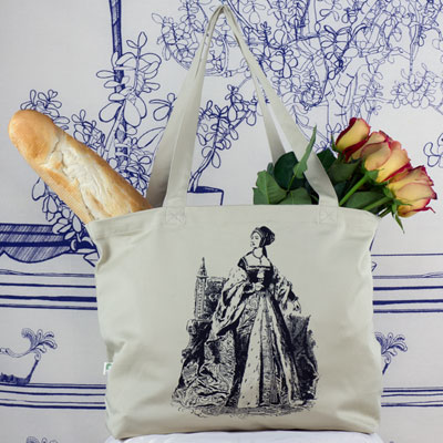 Anne Boleyn Large Tote Bag