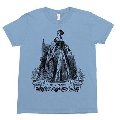Anne Boleyn Kids Tee Shirt Size 2-12