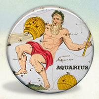 Constellation of Aquarius Zodiac Sign