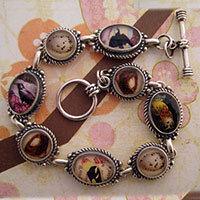 Birds of a Feather Collage Bracelet