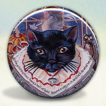 Black Kitty Cat Macabre