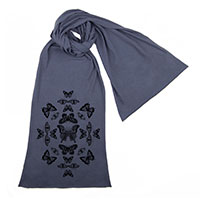 Butterfly Effect Screen printed Cotton Scarf