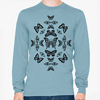 Butterfly Effect Men's or Unisex Organic Long Sleeve T-shirt