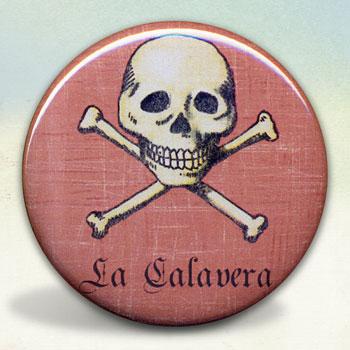 Loteria La Calavera - The Skull