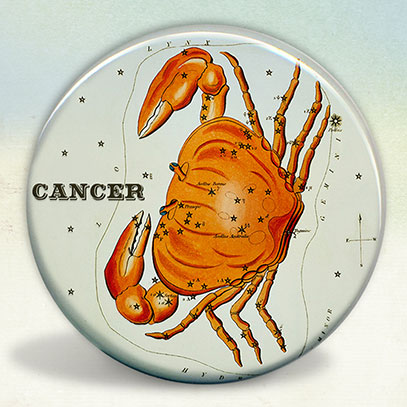 Constellation of Cancer Zodiac Sign