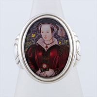 Catherine Parr Tudors Cameo Style Ring