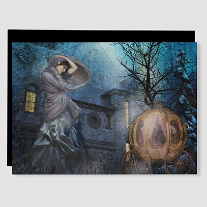 Cinderella Greeting Card Small