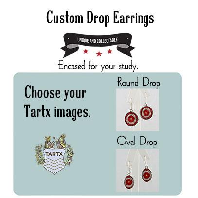 A Custom Pair of Drop Earrings