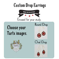 A Custom Pair of Drop Earrings