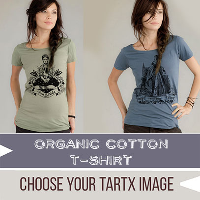 * Choose your TARTX image Organic Scoop T-Shirt