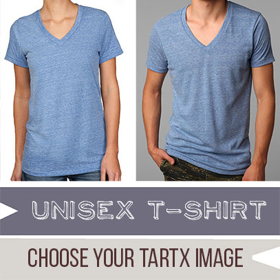 * Choose your TARTX image Unisex Boss V-Neck T-Shirt