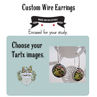 A Custom Pair of Sterling Wire Style Earrings