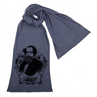 Charles Dickens Unisex Scarf