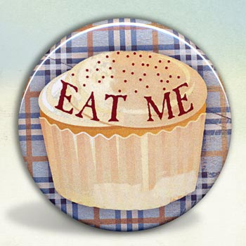 Alice In Wonderland Eat Me Cupcake