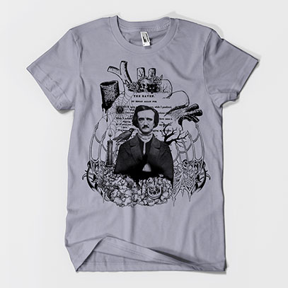 Edgar Allan Poe Men's or Unisex T-shirt
