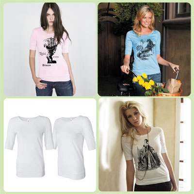 * Choose your TARTX image Bella T-Shirt
