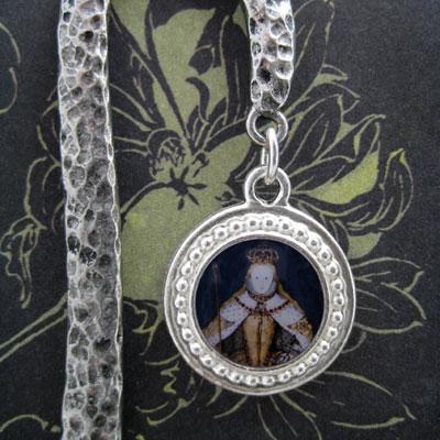 Queen Elizabeth I in Coronation Robes Bookmark