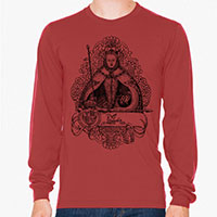 Queen Elizabeth I Men's or Unisex Organic Long Sleeve T-shirt
