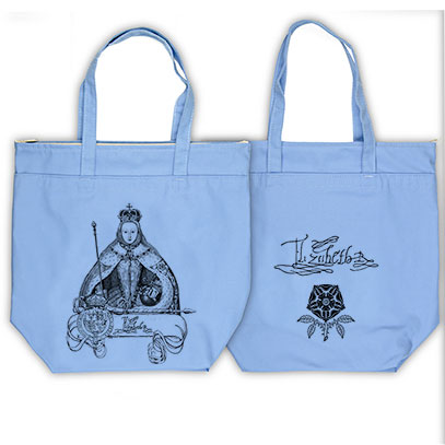 Queen Elizabeth l Organic Cotton Market Tote Bag