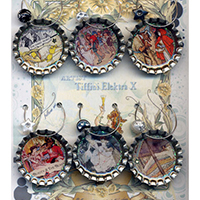 Fairy Tales Drink Charms