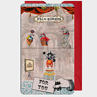 Flea Circus Mini Gift Cards