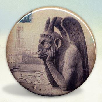 Gargoyles of Notre Dame Le Stryge