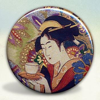 Geisha With Tea