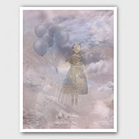 Ghost Girl Wandering among the Clouds