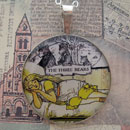 Goldilocks and the Three Bears Sterling Pendant