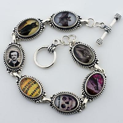 Gothic Curiosities Edgar A. Poe Bracelet