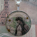 Guinevere Sterling Pendant