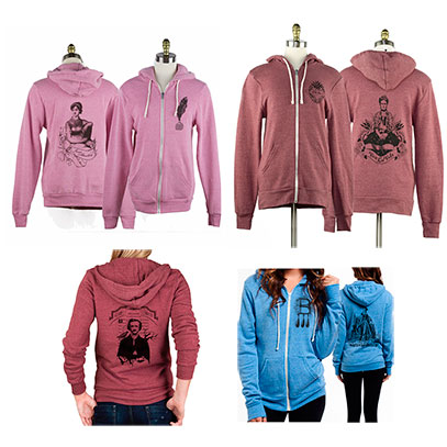 Fleece Hoodies - Misc. Designs